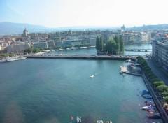 Fonds d'écran Voyages : Europe La Rade de Genève
