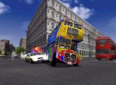 Fonds d'écran Jeux Vidéo MM2 : Bus londonien en pleine poursuite !