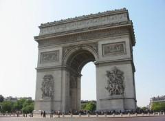 Fonds d'écran Voyages : Europe Arc De Triomphe