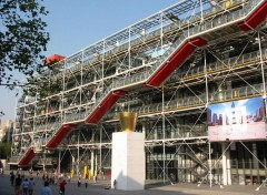 Fonds d'écran Voyages : Europe Le Centre George Pompidou