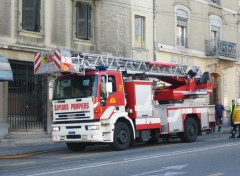 Wallpapers Various transports Un camion de pompiers
