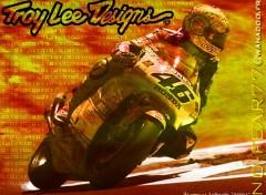 Fonds d'écran Motos V_Rossi