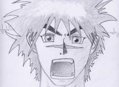 Fonds d'écran Art - Crayon Toru pas content!!