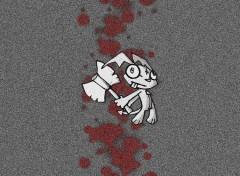 Fonds d'écran Art - Numérique J'aime tuer .. des trucs
