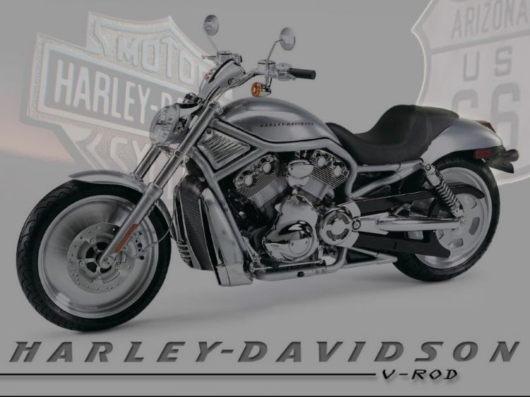 Fonds d'écran Motos Harley Davidson Harley