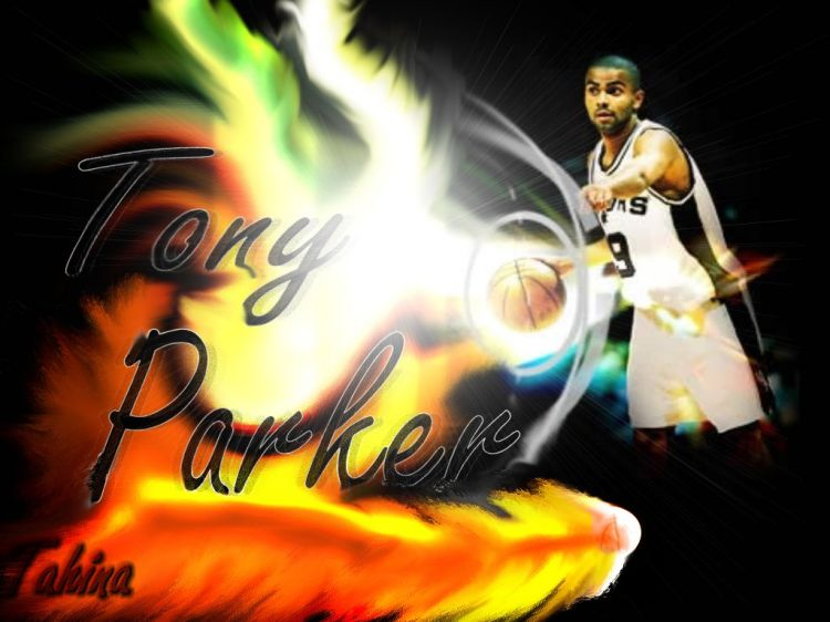 Wallpapers Sports - Leisures Basketball Tony Parker !!!