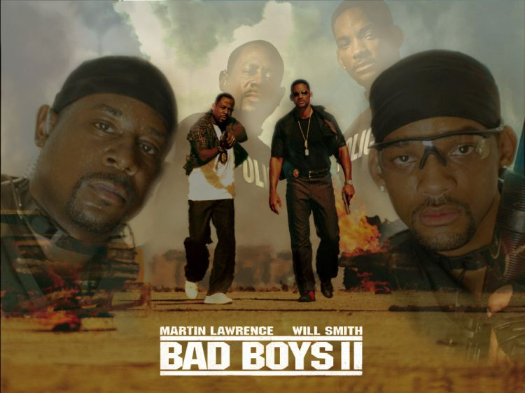 Fonds d'écran Cinéma Bad Boys II Bad Boys II