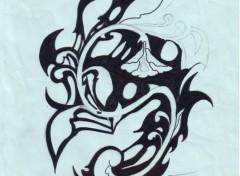 Fonds d'écran Art - Crayon enfer ou paradis