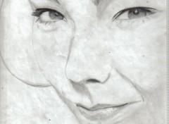 Fonds d'écran Art - Crayon Bjork 2