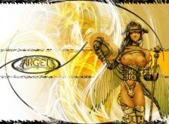 Fonds d'écran Art - Numérique Cyber Angel