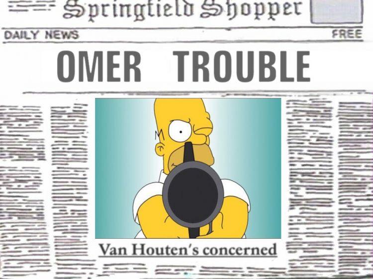 Fonds d'écran Dessins Animés Les Simpsons Wanted!!!