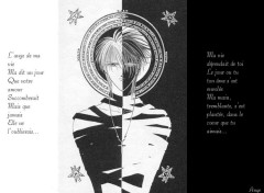 Fonds d'écran Manga Opposée