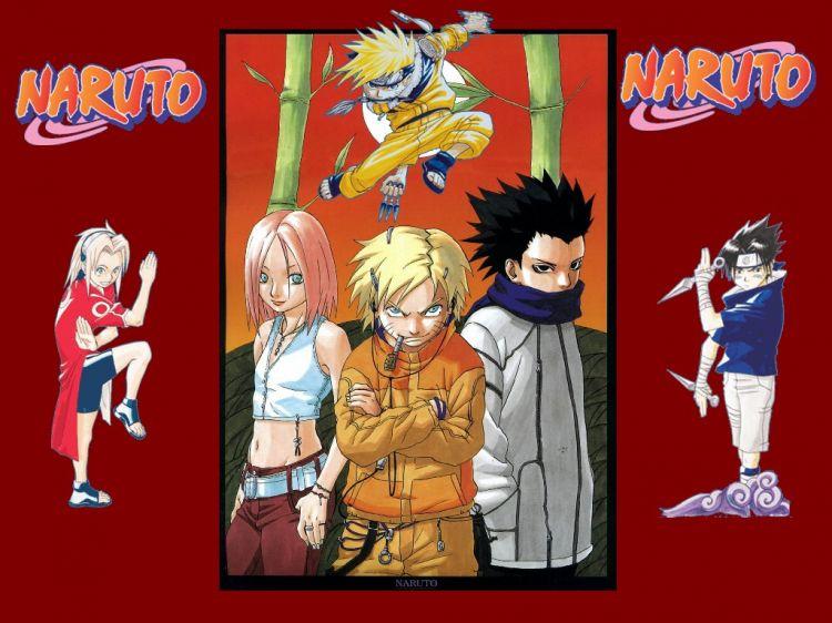 Fonds d'écran Manga Naruto Naruto le retour
