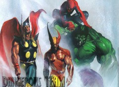 Wallpapers Comics Ruthay Marvel Team 01