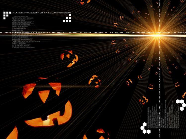 Fonds d'écran Art - Numérique Fêtes - Halloween Halloween From Space