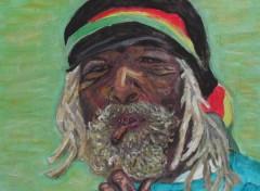 Wallpapers Art - Painting Rasta