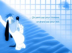 Fonds d'écran Dessins Animés Droopy blue