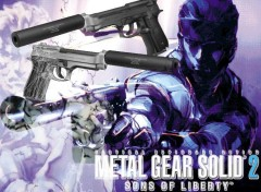 Wallpapers Video Games MGS2