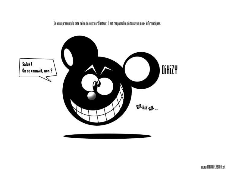 Fonds d'écran Humour Smileys DiKiZy