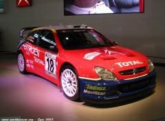 Fonds d'écran Voitures Citroen Xsara WRC Championne du monde 2003 Rallye