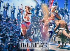 Fonds d'écran Jeux Vidéo FFXII - Vaan & Ashe