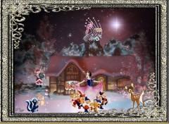 Fonds d'écran Dessins Animés Danse sur la neige
