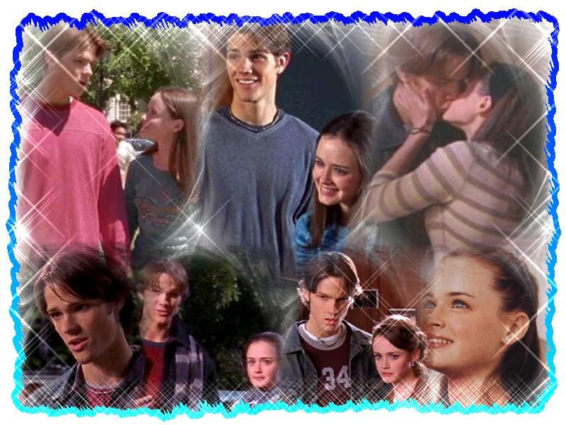 Fonds d'écran Séries TV Gilmore Girls Dean & Rory