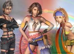 Fonds d'écran Jeux Vidéo Final Fantasy X-2 gals!