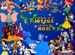 Fonds d'écran Dessins Animés Joyeux Noel Disney