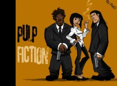 Fonds d'écran Cinéma PulP Fiction manga