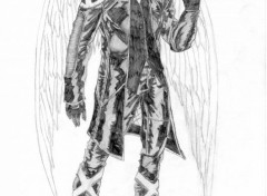 Fonds d'écran Art - Crayon Angel
