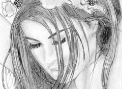 Wallpapers Art - Pencil Carmen