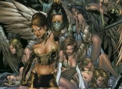 Fonds d'écran Comics et BDs darkness Nemesis