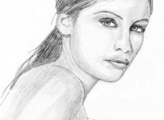 Wallpapers Art - Pencil Laetitia