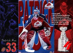 Wallpapers Sports - Leisures patrick roy 33 - le plus grand gardien québécois