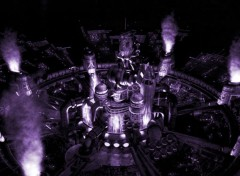 Wallpapers Video Games :: FFVII Midgar Night ::