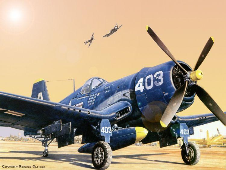 Fonds d'écran Avions Avions militaires Corsair
