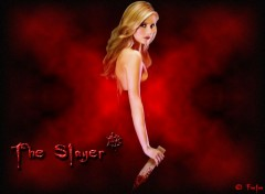 Fonds d'écran Séries TV The Slayer