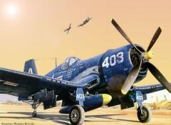 Fonds d'écran Avions Corsair