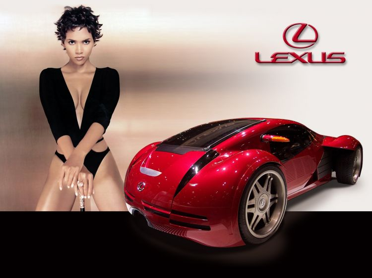 Wallpapers Cars Girls and cars Lexus Minority Report