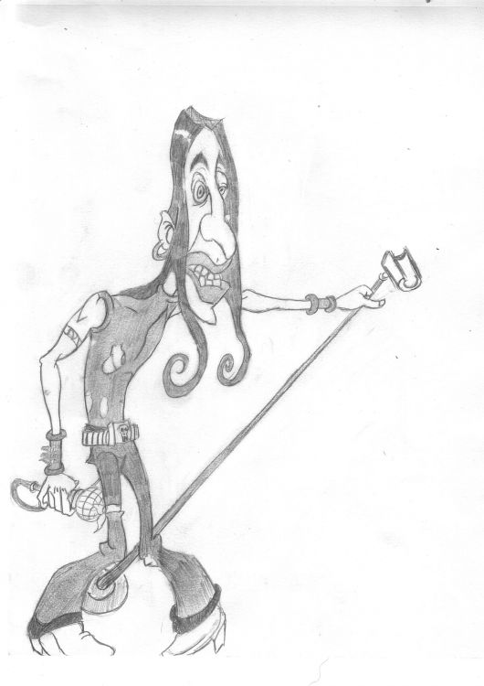 Fonds d'écran Art - Crayon Musique rock n' roll attitude