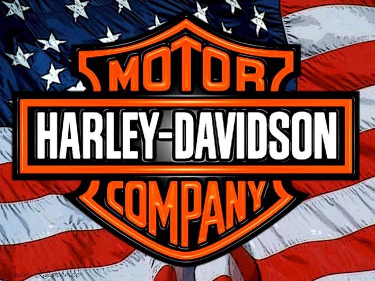 Fonds d'écran Motos Harley Davidson American Machine