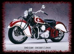 Wallpapers Motorbikes Indian Chief 1946