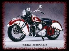 Fonds d'écran Motos Indian Chief 1946