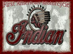 Fonds d'écran Motos First american Motorcycle