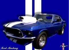 Wallpapers Cars Mustang Mach 1