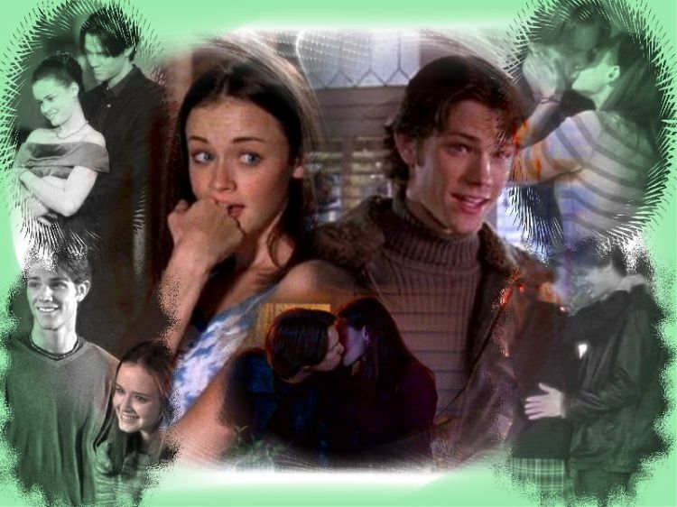 Fonds d'écran Séries TV Gilmore Girls Gilmore girl Rory et Dean