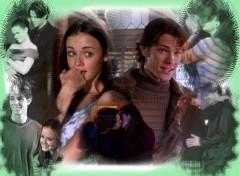 Fonds d'écran Séries TV Gilmore girl Rory et Dean
