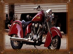 Fonds d'écran Motos Indian Chief 2003
