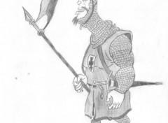 Fonds d'écran Art - Crayon soldat